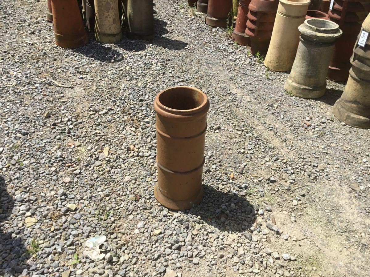 Terracotta Straight 3 Lipped Chim Pot