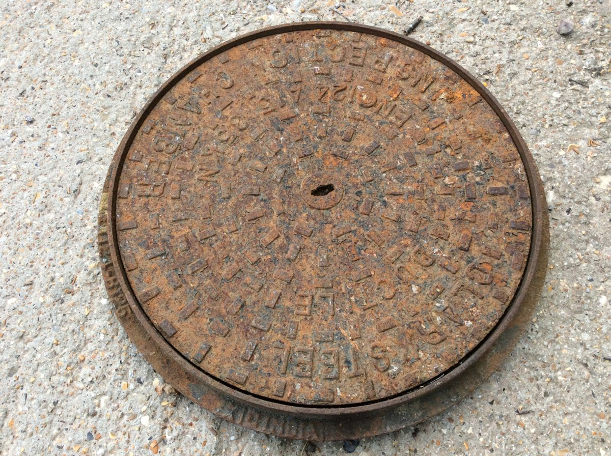 Circular Man Hole In Frame
