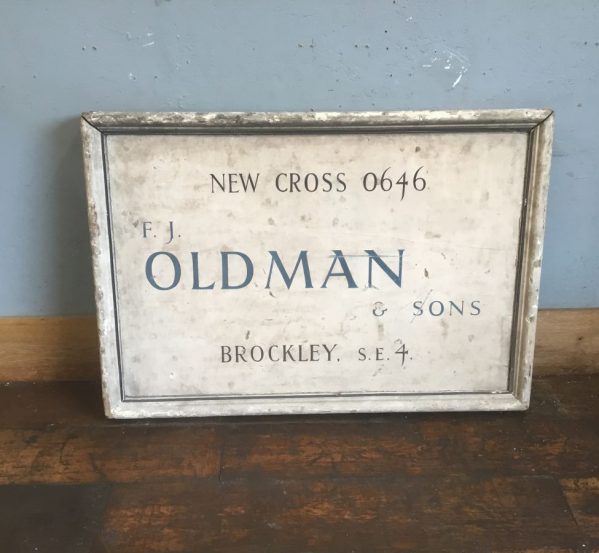 Larger Rustic Wooden Sign