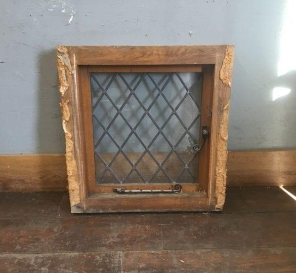 Oak Framed Lead Light Window