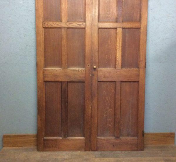 Tall Oak Double Doors