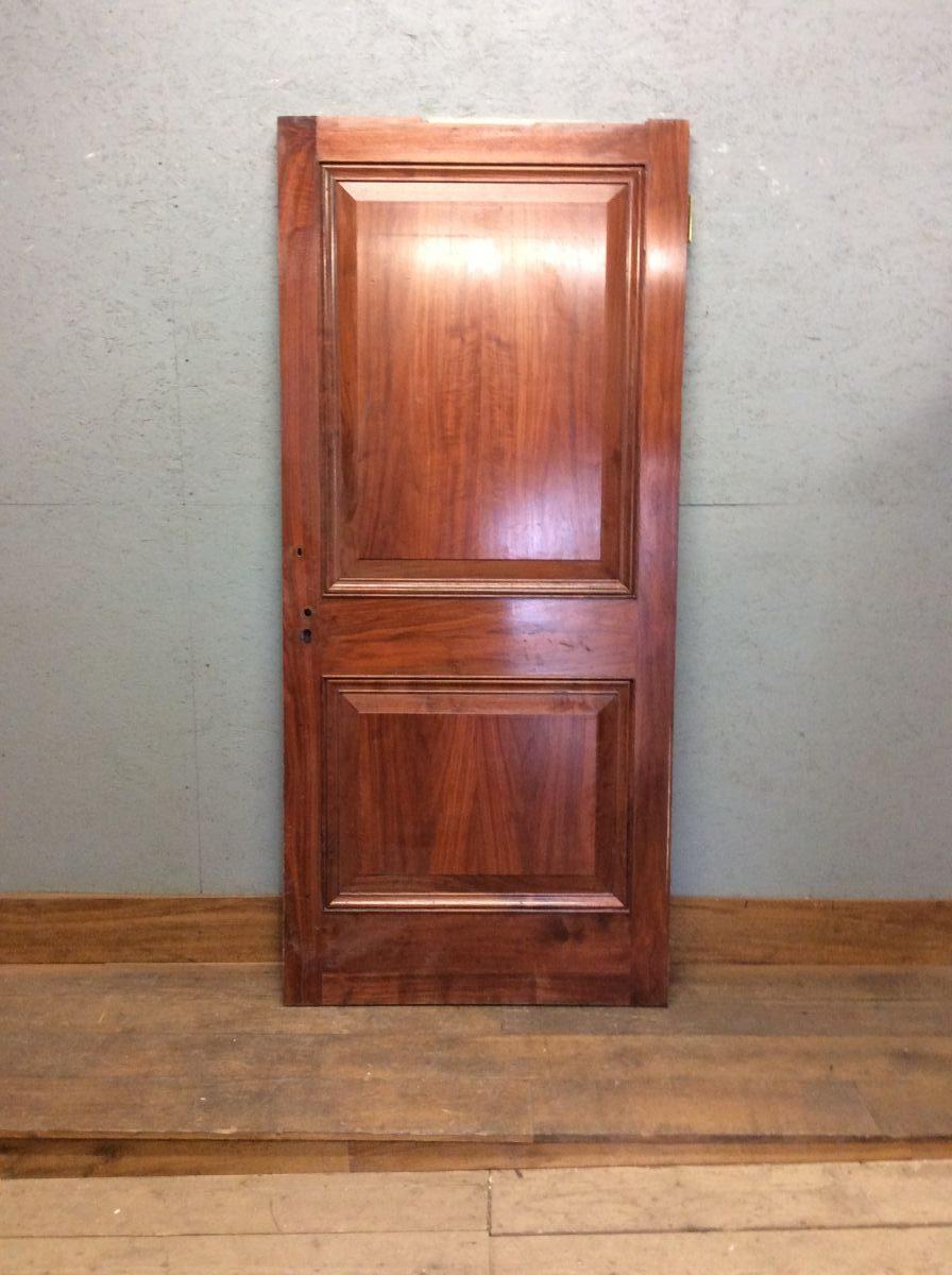 Lovely Mahogany 2 Panelled Door