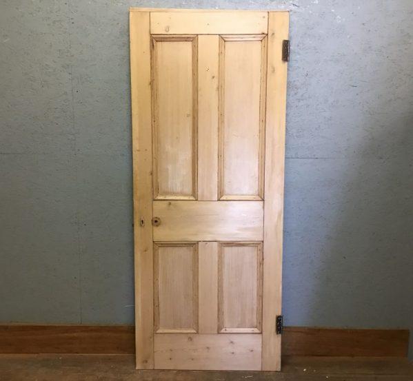 Nice Stripped Four Panel Door
