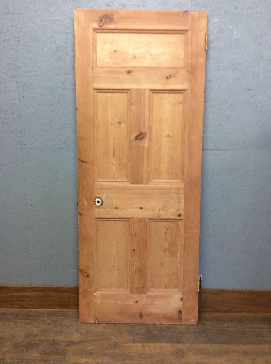 Five Panelled Stripped Door