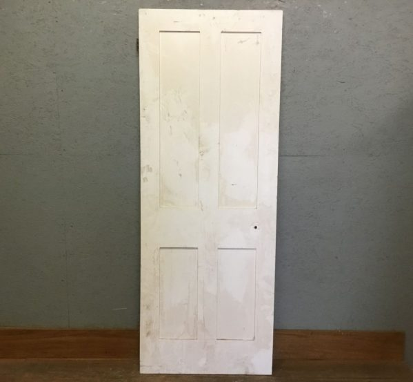 Simple & Small 4 panelled Door