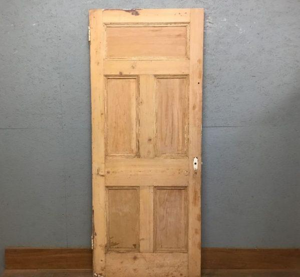 Nice Rustic Stripped 5 Panel Door