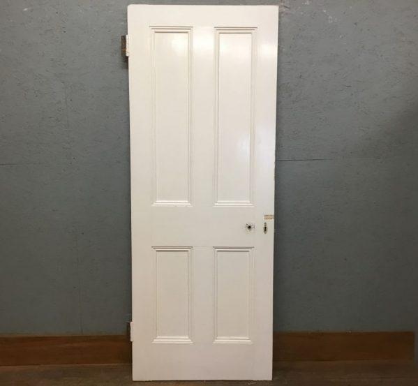 White 4 Panelled (Full Beading)